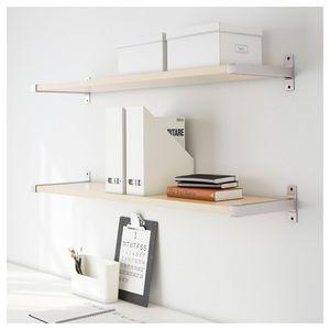 "[2 Sets] Ikea Ekby Bjarnum 7.5"" Shelf Brackets"